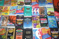 LOT OF 500 OLD UNOPENED BASKETBALL CARDS IN PACKS