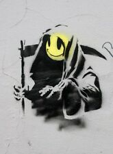 QUALITY BANKSY ART PHOTO PRINT (GRIM REAPER)
