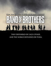 Band of Brothers (DVD, 2002, 6-Disc Set) Tom Hanks, Spielberg, Damian Lewis, Liv