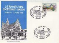 Germany Essen stamps fair with railway cancel stamps cover r20081