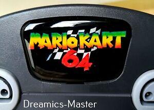 Mario Kart 64 Logo, Faceplate | For Nintendo 64 Console