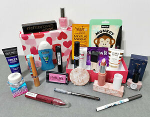 Birchbox Cosmetic bundle make up gift set Glossybox Beauty Box 23 items Xmas