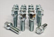 20 SERRATURE argento M12 x 1.5 68mm Stud Kit di conversione per Mercedes Inc Nuts