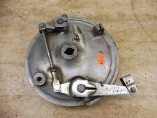 1972 Honda CL350 CB350 Twin H329-2' front wheel hub drum brake plate #1