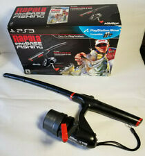 PS3 Rapala Pro Bass Fishing w/ Fishing Pole Controller + Dongle + Box COMPLETE!