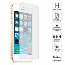REAL Tempered Glass Screen Protector for Apple iPhone 5/5S/5C-SE Front and Back.