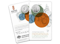 2019 International Year of Indigenous Languages 50c Frosted Coin