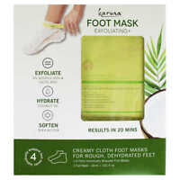Karuna Exfoliating Foot Mask 4X0.61 oz ( 4Pack)