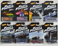 Hot Wheels Fast and Furious 2016 Complete Set of 8 NEW COLLECTION REAL NICE!!