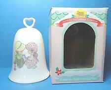 Precious Moments Heart Shaped Bell of Friendship Dated 1996