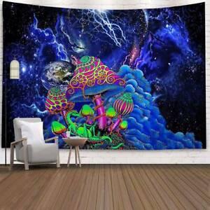 Pilz Tapisserie Wandteppich Wanddeko Wandtuch Wandbehang Wandkunst Mehrfarbig