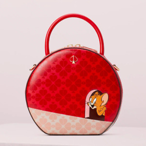 Kate Spade tom & jerry canteen bag Crossbody ~NWT~ Red