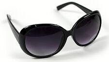 Nuevas señoras para mujer Negro Grande Marco Retro Vintage Gafas de sol de gran tamaño UV400