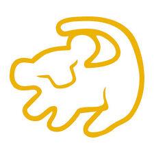 "Lion King Simba Symbol 4"" Disney Decal Sticker Car Window Laptop Vinyl Rafiki"