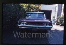1960s Photo slide Pontiac car automobile Portland Oregon License Plate frame