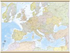 EUROPA AMMINISTRATIVA CARTINA MURALE [132X99 CM] [CARTA/MAPPA] BELLETTI EDITORE