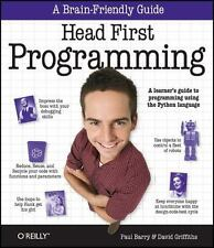 Head First Programming: A Learner's Guide to Programming Using the Python Langua