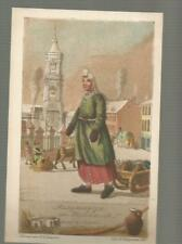 Russia PETERSBURG Milkmaid by GEISLER vintage Red Cross