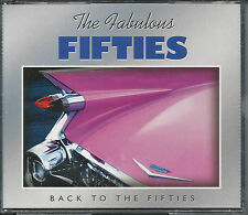 "CD The Fabulous Fifties ""Back To The Fifties"" 50 Songs-Var Artists - SHIPS FREE!"