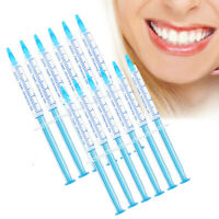 10PC Teeth Whitening Gel 35% Refills Tooth Whitener Bleaching Gel No Sensitive