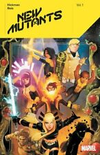 New Mutants By Jonathan Hickman Vol. 1 by Ed Brisson 9781302919924 | Brand New