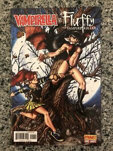 VAMPIRELLA VS. FLUFFY THE VAMPIRE KILLER One Shot NM- (Dynamite 2012)
