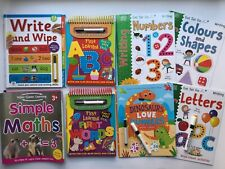 Nursery Wipe Clean Home Learning Workbooks Pre School Age 2|3|4|5/6 with pen