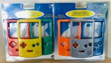 GAMEBOY  Color 2 packages of 3 removable covers NEW & SEALED