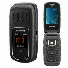 Samsung Rugby III Gray Rugged Flip Phone - Locked to AT&T 3G | Poor (C-Grade)