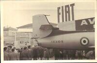 FOTO 1960ca - EXPO FIAT AVIAZIONE - FIAT G.80 - AERONAUTICA MILITARE