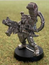 Warhammer 40k Catachan Commander Sergeant Imperial Guard - Free Postage