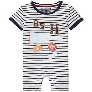Tommy Hilfiger Strampler Jersey Baby Boy Einteiler Größe 56, 62,68,74 NEU 54,90€