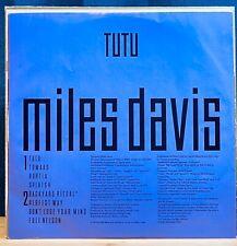 Tutu  Miles Davis  Warner Japan  M-