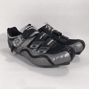 Women's Diadora ERGO Road Cycle Riding Shoes US Size 9 Great Condition