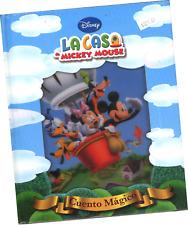 """LIBRO """"DISNEY LA CASA DE MICKEY MOUSE; CUENTO MÁGICO"""", EN ESPAÑOL"""