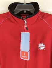 Hoover Co. Elevate Sport Iberico Red/Black Soft Shell Jacket Women's Size M New!