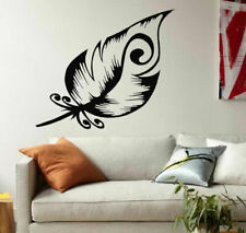 Wall Decal Vinyl Sticker Bedroom Feather Nursery Beautiful Cute Home Art bo2587