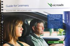 Vic Roads Guide for Learners Learner Log Book Replacement Copy