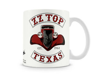 Officially Licensed Merchandise ZZ-Top - Texas 1969 Coffee Mug
