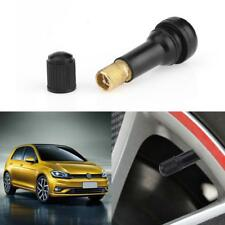 1x TR438 Rubber Snap-in Rubber Tubeless Tire Car Wheel Tyre Valve Stem Dust Cap