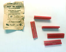 AMP / TE Connectivity  5-640440-0 - 5amp 20pos .100  for 22awg  MTA-100 Lot of 3