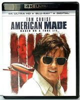 American Made [4K UHD Ultra HD Blu-ray / Bluray] Tom Cruise Movie
