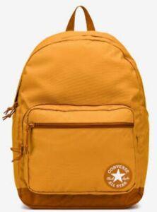 CONVERSE Chuck Taylor All Star GO Backpack AMBER SEPIA SAFFRON YELLOW Unisex BAG
