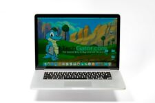Apple Retina MacBook Pro 15 2.6GHz - 3.6GHz 16GB 512GB SSD OSX 2017 10.13 Laptop