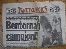 TUTTOSPORT ITALIA CAMPIONE MONDIALE SPAGNA 1982 BENTORNATI CAMPIONI! 13/7