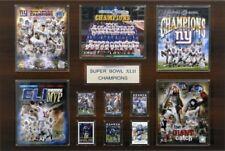 C & I Collectables NFL 24x36 New York Giants Super Bowl XLVI Champions Plaque