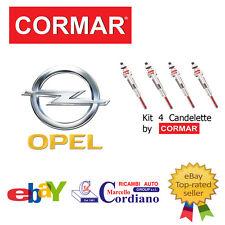 KIT 4 CANDELETTE OPEL ZAFIRA 2.0 2.2 CDTI DA ANNO 2000 CORMAR