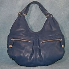 MICHAEL Michael Kors Blue Pebbled leather Hobo Shoulder handbag