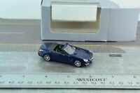 Norev Mercedes Benz SL Class Convertible Car Blue Diecast Metal 1/64 Scale
