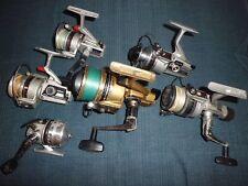 6- Vintage Daiwa Fishing Reels for Parts